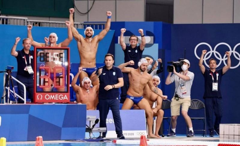 Ελλαδάρα, ομαδάρα! Στην 4άδα των Ολυμπιακών η Εθνική Πόλο!
